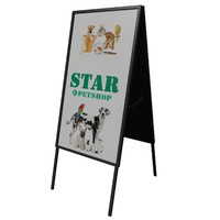 pavement advertising sign m-01 max