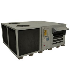 3d model roof air conditioner m-01