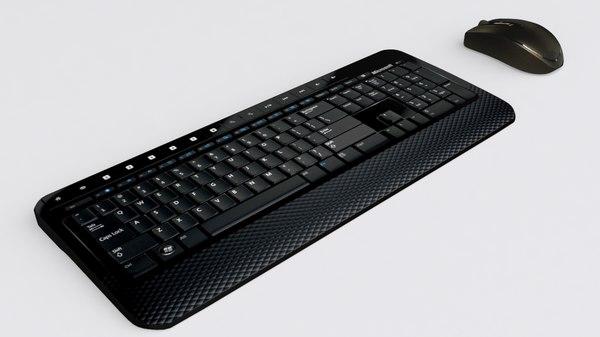 microsoft wireless keyboard mouse 3ds