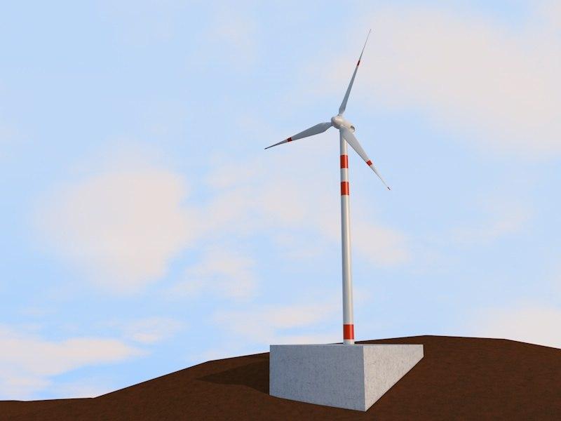 maya eolic turbine