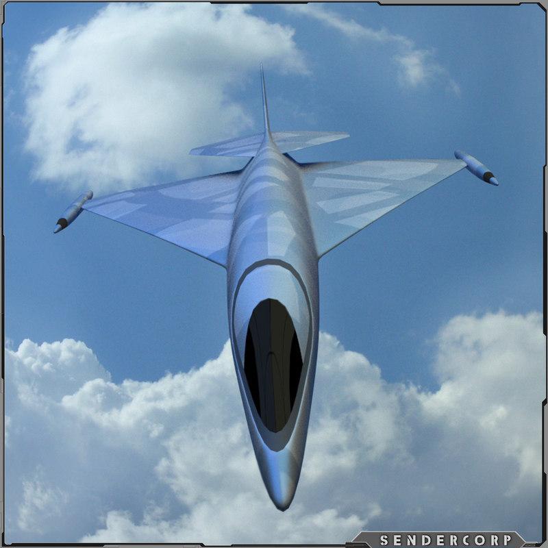 fighter jet obj free