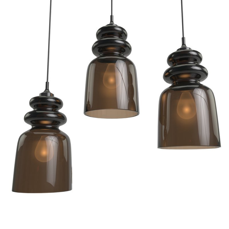 free pendant light messalina 3d model