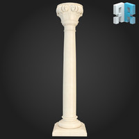 3d model of column