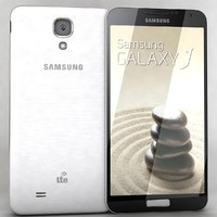 3d model samsung galaxy j white