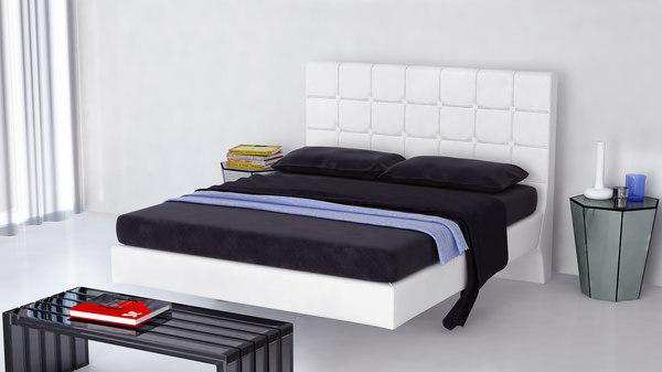 bedroom books 3d max