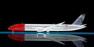 maya norwegian 787-9 dreamliner 787