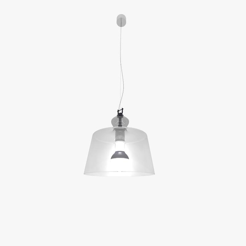3d lamp produzione acquatinta model