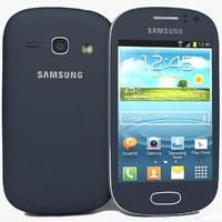 Samsung Galaxy Fame S6810 Bule