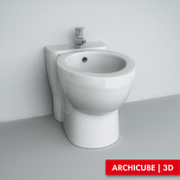 3ds max toilet wc