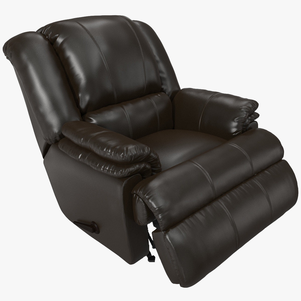 max ashford padded rocker recliner