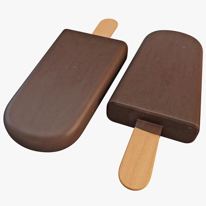 ice cream bar 3d model