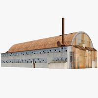 3d hangar 7 model