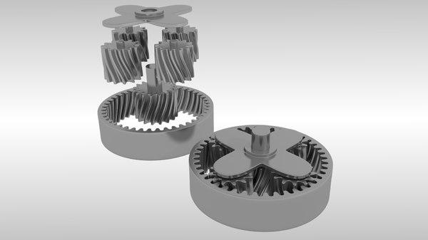 planetary gears animation x