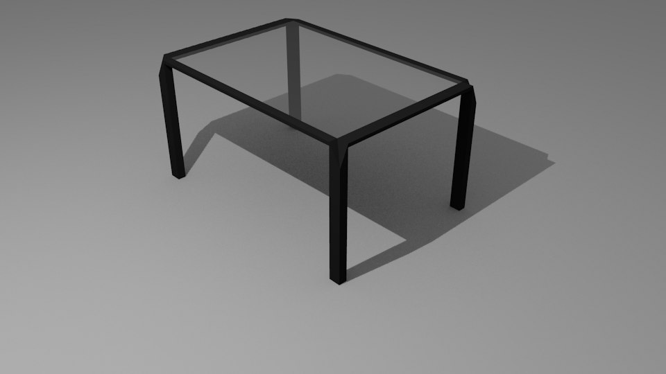 free 3ds mode stylish modern desk