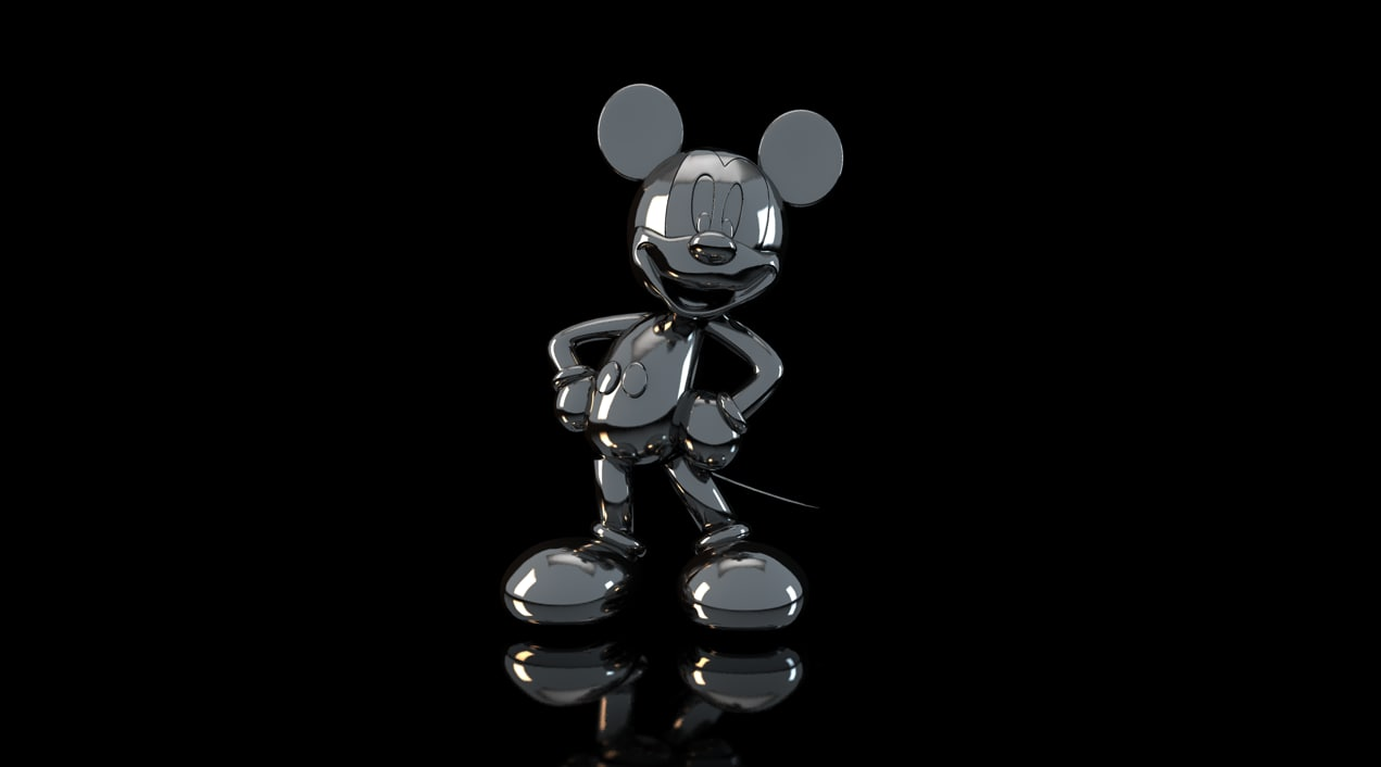 3ds max mickey mouse