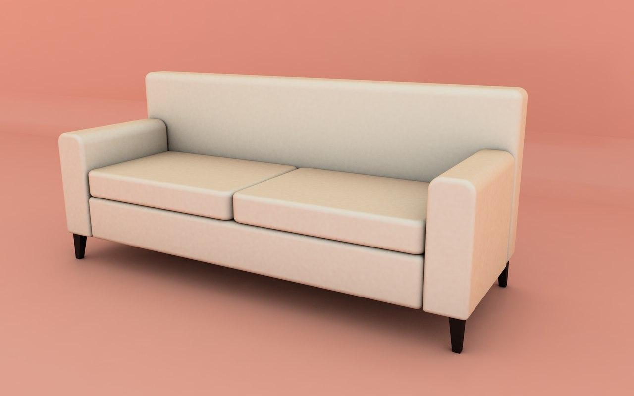 c4d sofa basic