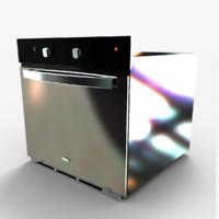 3d model oven