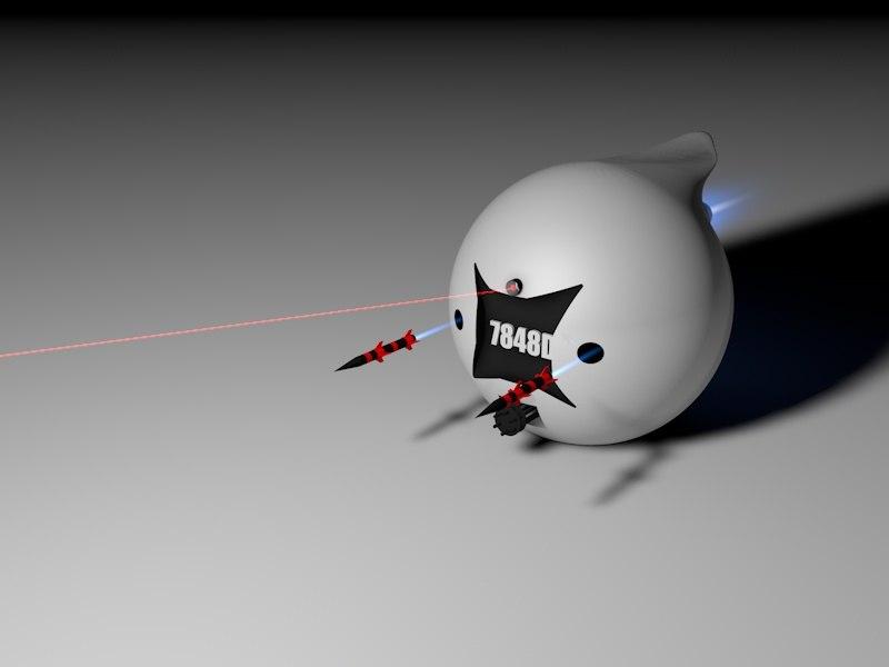 robot combat 3d c4d