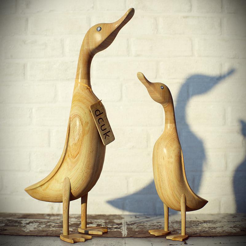 3d model al duck