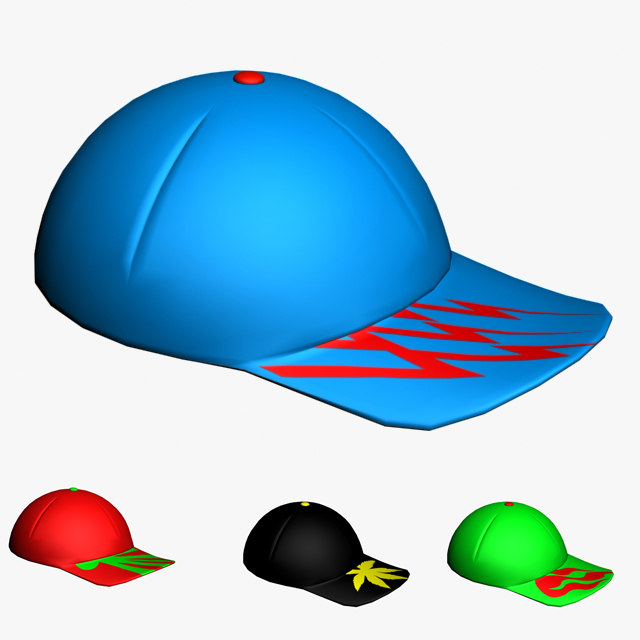 sports cap 3d max
