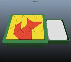 free tangram 3d model