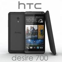 realistic htc desire 700 3d max