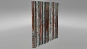 3d 8 x sheet metal model