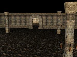 3ds max secret castle dungeon