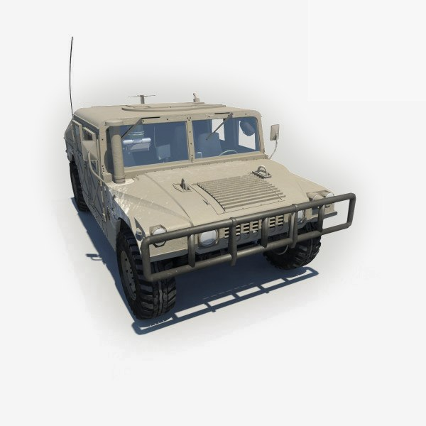 3ds max humvee hmmwv military