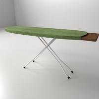 3d model iron board