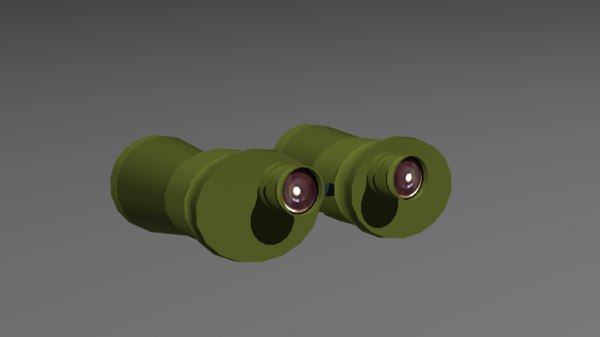 3d model army goggles