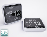 c4d karlsson flip clock