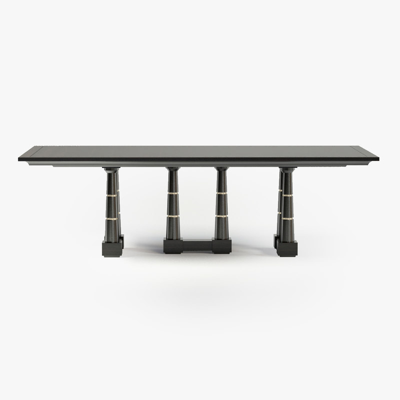 max baker column dining table