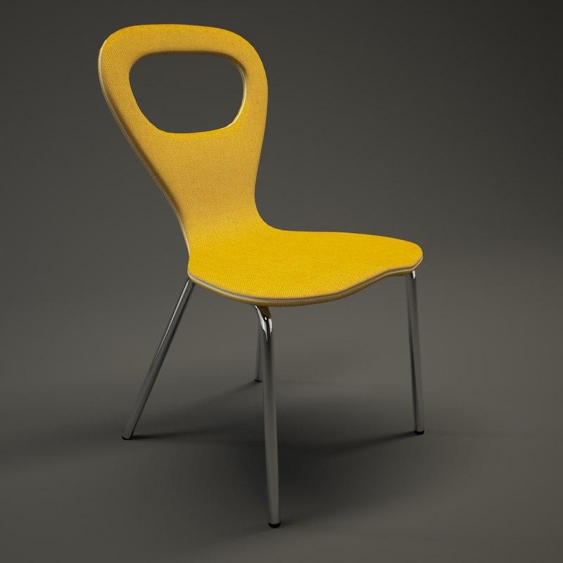 3dsmax moroso tv-chair