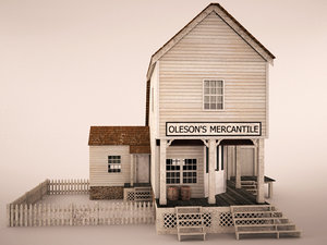 3d old store house