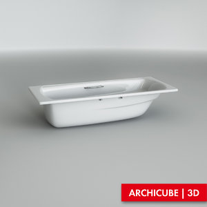 3d bath bathtube model