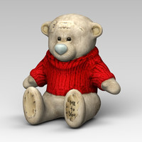 3ds max bear