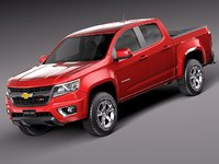 Chevrolet Colorado Double Cab 2015
