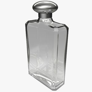 cologne bottle 3d max