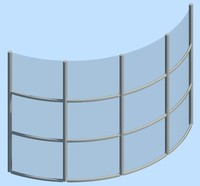 Curtain Wall Curved