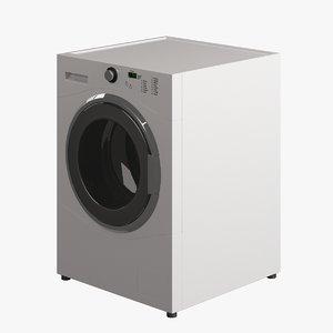 3d model of washing machine