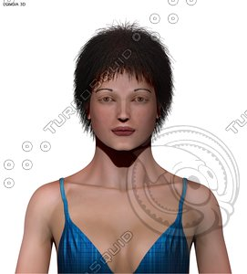 3d characters correct model
