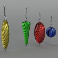 Christmas baubles Twisted
