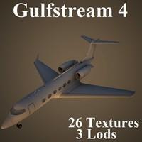 3d gulfstream 4