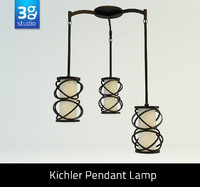 kitchler pendant lamp 3d model