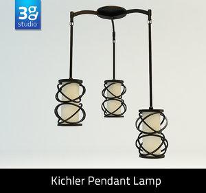 kitchler pendant lamp 3d model