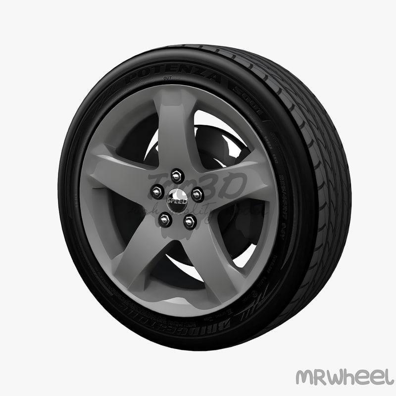 3d wheel mrwheel