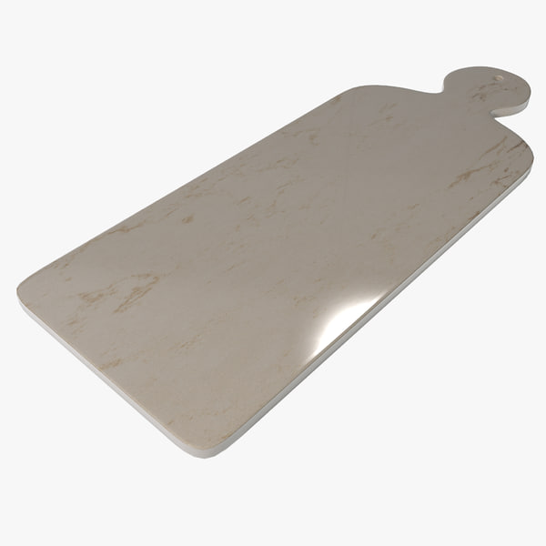 marble cutting board 3d model