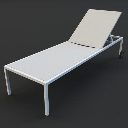 3ds max pool chair