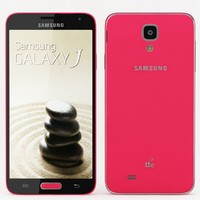 samsung galaxy j pink 3d model